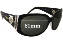 Sunglass Fix Sunglass Replacement Lenses for Gucci GG3077/S -61mm Wide