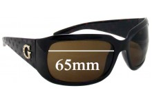 Sunglass Fix Sunglass Replacement Lenses for Guess unknown model - 65mm Wide