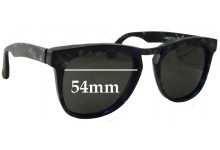 Sunglass Fix Sunglass Replacement Lenses for IDC Lunette 196-210 - 54mm Wide