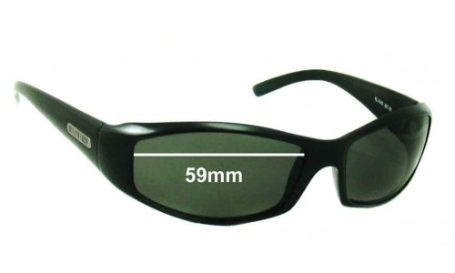 Sunglass Fix Sunglass Replacement Lenses for Killer Loop KL4145 - 59mm Wide