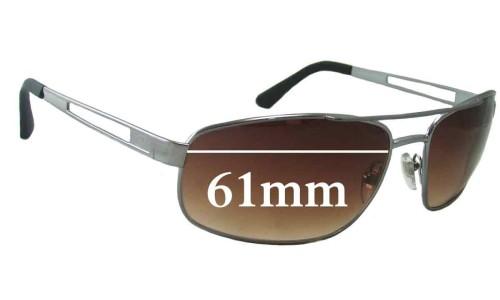 Sunglass Fix Sunglass Replacement Lenses for Killer Loop KL3208 - 61mm Wide