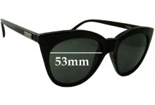 Sunglass Fix Sunglass Replacement Lenses for Le Specs Halfmoon Magic - 53mm Wide