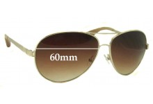 Sunglass Fix Sunglass Replacement Lenses for Marc by Marc Jacobs MMJ 184/S - 60mm Wide