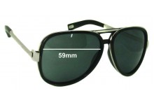 Sunglass Fix Sunglass Replacement Lenses for Marc by Marc Jacobs MMJ 364/S - 59mm Wide