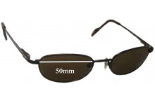 Sunglass Fix Sunglass Replacement Lenses for Maui Jim MJ552 - 50mm Wide