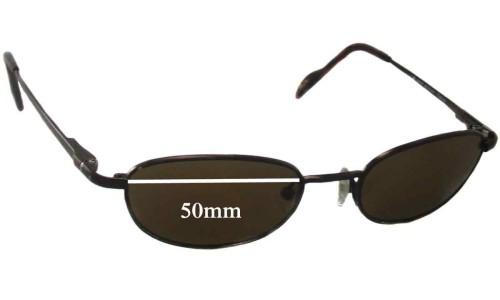 Sunglass Fix Sunglass Replacement Lenses for Maui Jim MJ552 - 50mm Wide