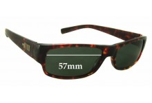 Sunglass Fix Sunglass Replacement Lenses for Mosley Tribes Kapelle - 57mm Wide