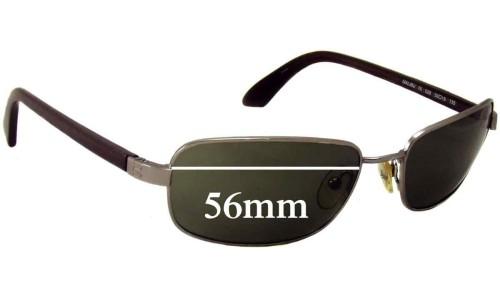 Sunglass Fix Sunglass Replacement Lenses for Nautica Malibu - 56mm Wide