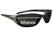 Sunglass Fix Sunglass Replacement Lenses for Nike EV0244 Haul - 66mm Wide