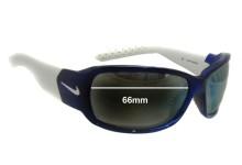 Sunglass Fix Sunglass Replacement Lenses for Nike EV0575 EV0576 EV0578 Ignite - 66mm Wide