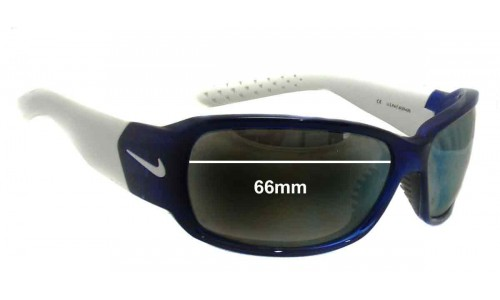 Sunglass Fix Sunglass Replacement Lenses for Nike Ignite EVO 575 EVO 576 EVO 578 Sunglass Replacement Lenses- 66mm Wide