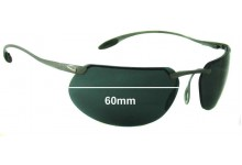 Sunglass Fix Sunglass Replacement Lenses for Nike Hyperion Pro II - 60mm Wide