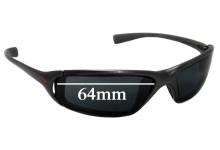 Sunglass Fix Sunglass Replacement Lenses for Nike Interchange Monza EA0004 - 64mm Wide