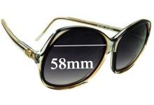 Sunglass Fix Sunglass Replacement Lenses for Nina Ricci Paris 85-D14 - 58mm Wide