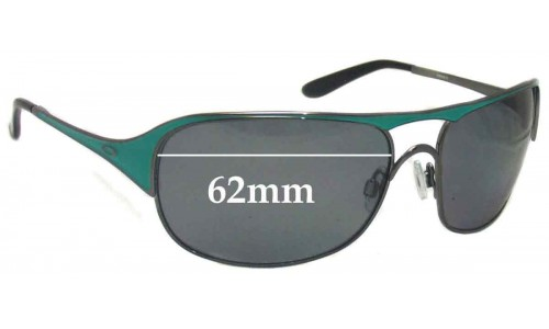 Sunglass Fix Sunglass Replacement Lenses for Oakley Cover Story OO4042 - 62mm Wide