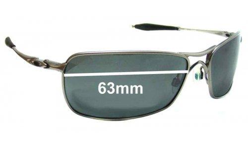 Sunglass Fix Sunglass Replacement Lenses for Oakley Crosshair 2.0 - 63mm wide