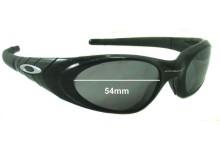 Sunglass Fix Sunglass Replacement Lenses for Oakley Eye Jacket 2.0 - 54mm Wide