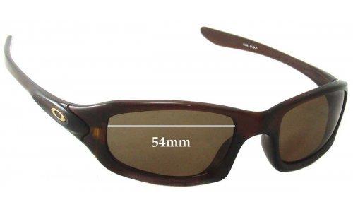 Sunglass Fix Sunglass Replacement Lenses for Oakley Fives 4.0 - 54mm Wide