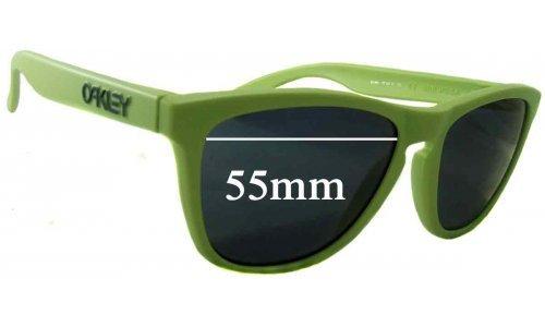Sunglass Fix Sunglass Replacement Lenses for Oakley Frogskins Gen. 2 - 55mm Wide