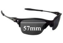 Sunglass Fix Sunglass Replacement Lenses for Oakley X Metal Half-X 57mm Wide