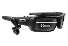 Sunglass Fix Sunglass Replacement Lenses for Oakley Thump 2.0 - 60mm Wide