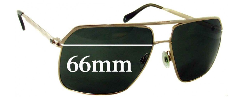 7bf46a19f1 Sunglass Fix Sunglass Replacement Lenses for Oliver Peoples Connolly - 66mm  wide