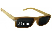 Sunglass Fix Sunglass Replacement Lenses for On The Nose N4532 - 51mm Wide
