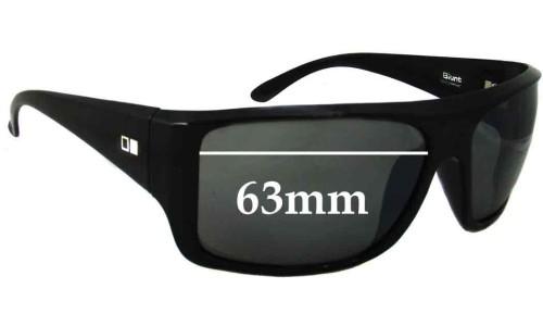 Sunglass Fix Sunglass Replacement Lenses for Otis Blunt - 63mm Wide