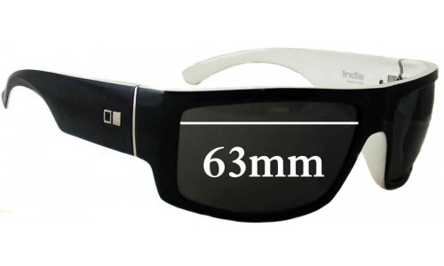 Sunglass Fix Sunglass Replacement Lenses for Otis Indie - 63mm Wide