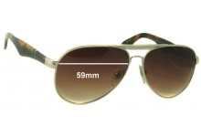 Sunglass Fix Sunglass Replacement Lenses for Persol 2365-S - 59mm Wide