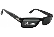 Sunglass Fix Sunglass Replacement Lenses for Persol 2747-S - 54mm Wide