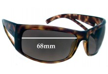 Sunglass Fix Sunglass Replacement Lenses for Prada SPR09F - 68mm Wide