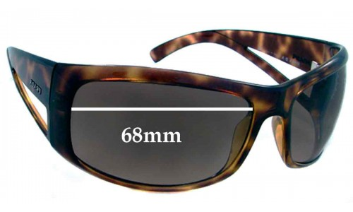 Sunglass Fix Sunglass Replacement Lenses for Prada SPR09F - 68mm lens