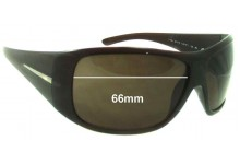 Sunglass Fix Sunglass Replacement Lenses for Prada SPR20H - 66mm Wide