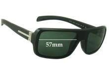 Sunglass Fix Sunglass Replacement Lenses for Prada SPS01I - 57mm Wide