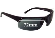 Sunglass Fix Sunglass Replacement Lenses for Prada SPS02F - 72mm Wide