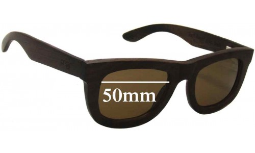 Sunglass Fix Sunglass Replacement Lenses for Proof Ontario 50mm Wide - must be installed in our lab