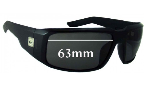 Sunglass Fix Sunglass Replacement Lenses for Quiksilver The Cruise - 63mm Wide
