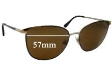 Sunglass Fix Sunglass Replacement Lenses for Ralph Lauren RL 7039 - 57mm Wide