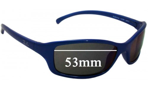 Sunglass Fix Sunglass Replacement Lenses for Ray Ban Jr RJ9019-S - 53mm wide