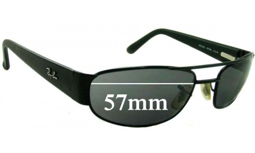 Sunglass Fix Sunglass Replacement Lenses for Ray Ban RB3052 - 57mm Wide