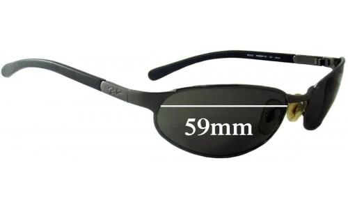 Sunglass Fix Sunglass Replacement Lenses for Ray Ban RB3142 - 59mm wide