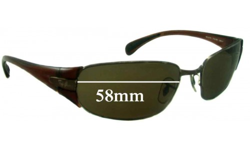 Sunglass Fix Sunglass Replacement Lenses for Ray Ban RB3275 - 58mm Wide