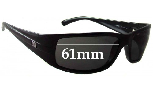 Sunglass Fix Sunglass Replacement Lenses for Ray Ban RB4057 - 61mm Wide