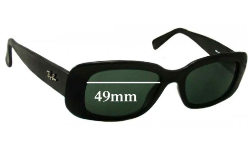 Sunglass Fix Sunglass Replacement Lenses for Ray Ban RB4122 - 49mm Wide