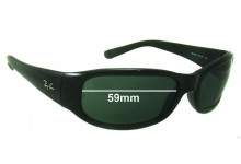 Sunglass Fix Sunglass Replacement Lenses for Ray Ban RB4137 - 59 mm Wide