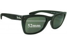 Sunglass Fix Sunglass Replacement Lenses for Ray Ban RB4148 Caribbean - 52mm Wide