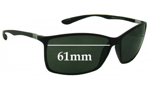 Sunglass Fix Sunglass Replacement Lenses for Ray Ban RB4179 Liteforce - 61mm wide