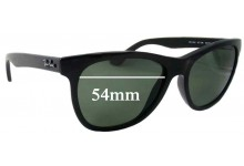 Sunglass Fix Sunglass Replacement Lenses for Ray Ban RB4184 - 54mm Wide