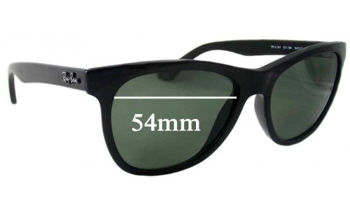 Sunglass Fix Sunglass Replacement Lenses for Ray Ban RB4184 - 54mm wide lenses